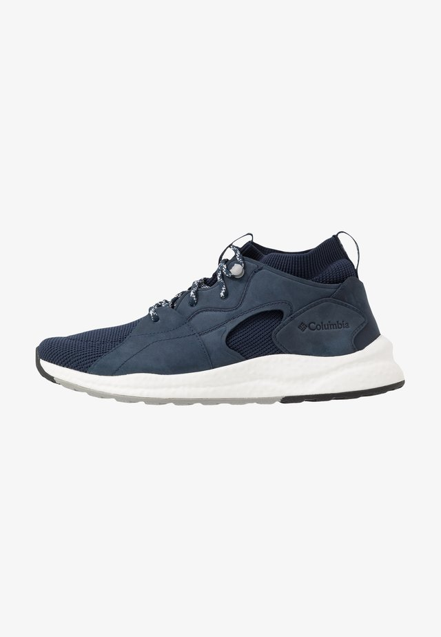 SH/FT  OUTDR  MID - Hikingschuh - collegiate navy/white