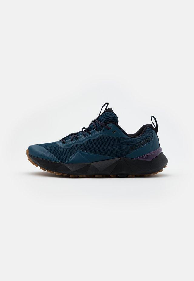 FACET15 - Walking trainers - petrol blue/cyber purple