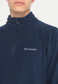 Columbia - KLAMATH RANGE HALF ZIP - Sweat polaire - collegiate navy - 4