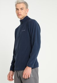 Columbia - KLAMATH RANGE HALF ZIP - Sweat polaire - collegiate navy - 0