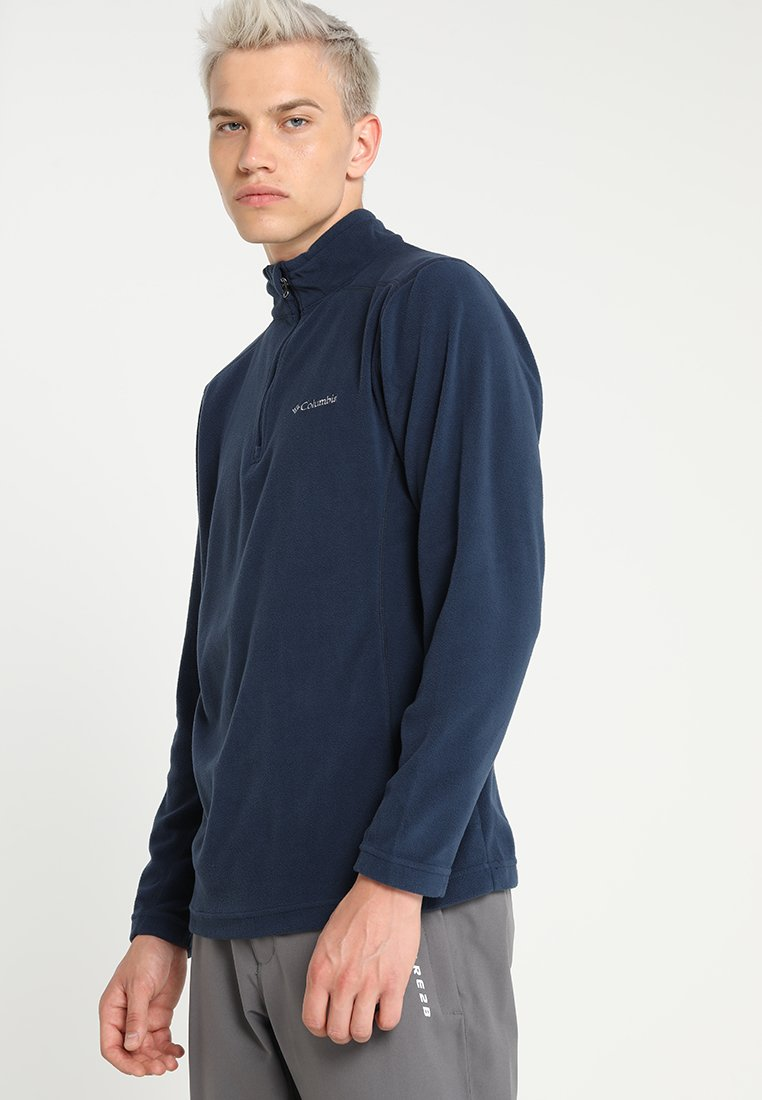 Columbia - KLAMATH RANGE HALF ZIP - Fleece jumper - collegiate navy