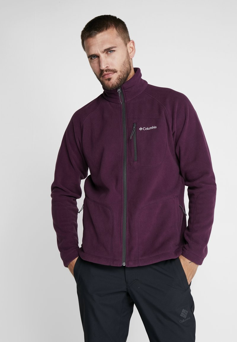 Columbia - FAST TREK II - Fleecová bunda - black cherry/shark