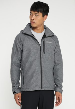 CASCADE RIDGE  - Kurtka Softshell - mottled grey