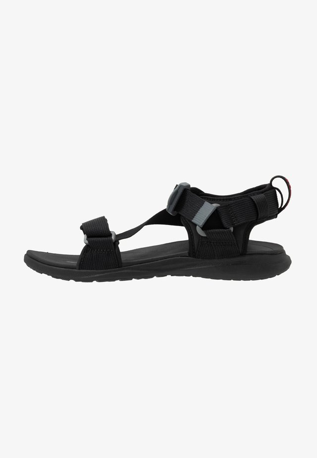 Outdoorsandalen - black/red element