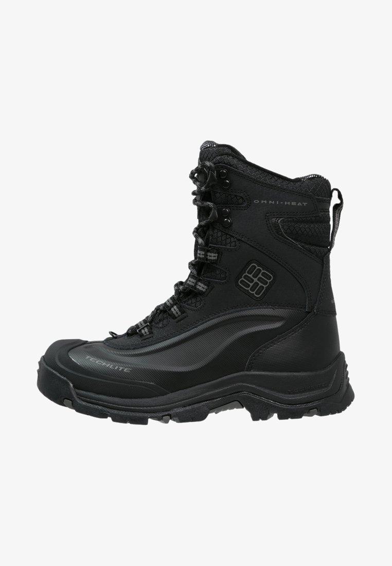 Columbia - BUGABOOT PLUS III OMNI-HEAT - Winter boots - black/charcoal