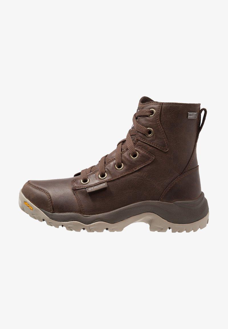 Columbia - CAMDEN OUTDRY CHUKKA - Zapatillas de senderismo - cordovan/grey