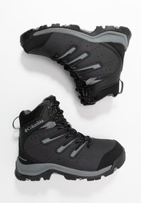 Columbia - GUNNISON II OMNI-HEAT - Winter boots - black/ti grey steel - 1