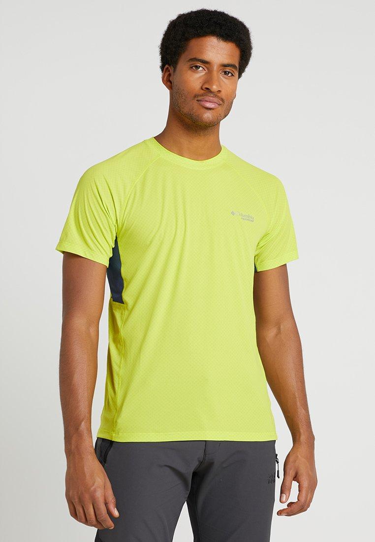 Columbia - TITAN ULTRA SHORT SLEEVE - T-Shirt print - zour/zinc