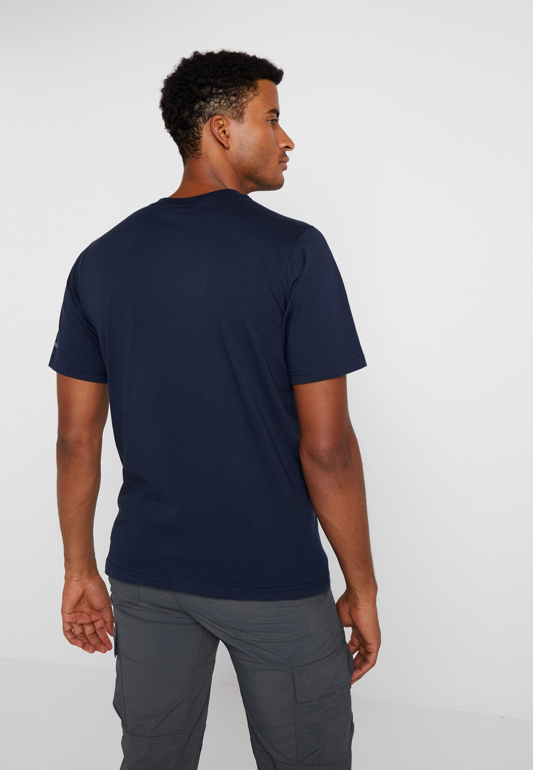 Basic Columbia Collegiate shirt Imprimé Short SleeveT Navy Logo AL4q53Rj