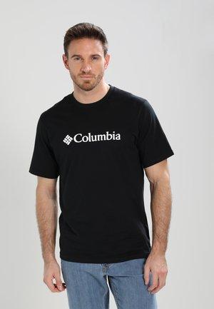 BASIC LOGO SHORT SLEEVE - Print T-shirt - black