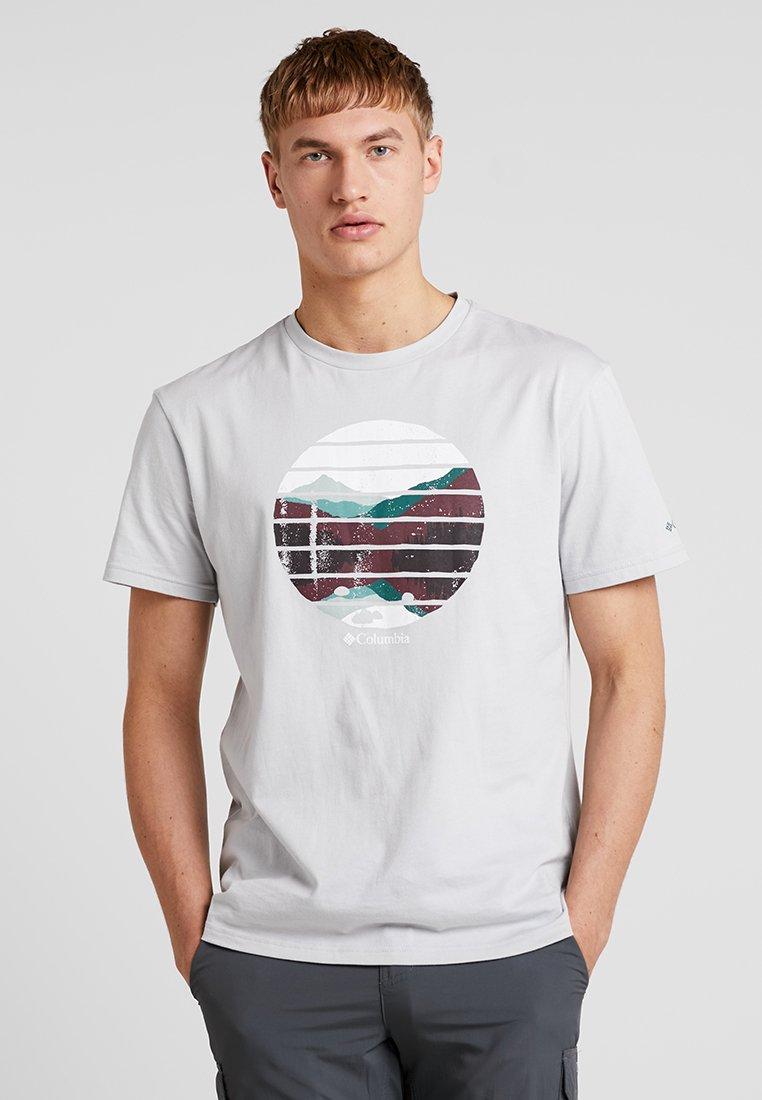 Columbia - LANA MONTAINE™ TEE - T-shirt print - cool grey