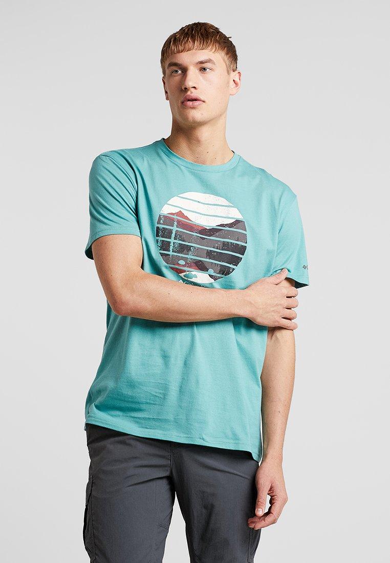 Columbia - LANA MONTAINE™ TEE - T-Shirt print - copper one
