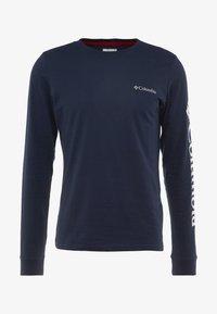 Columbia - LODGE GRAPHIC - Camiseta de manga larga - collegiate navy - 4