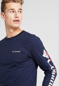 Columbia - LODGE GRAPHIC - Camiseta de manga larga - collegiate navy - 3