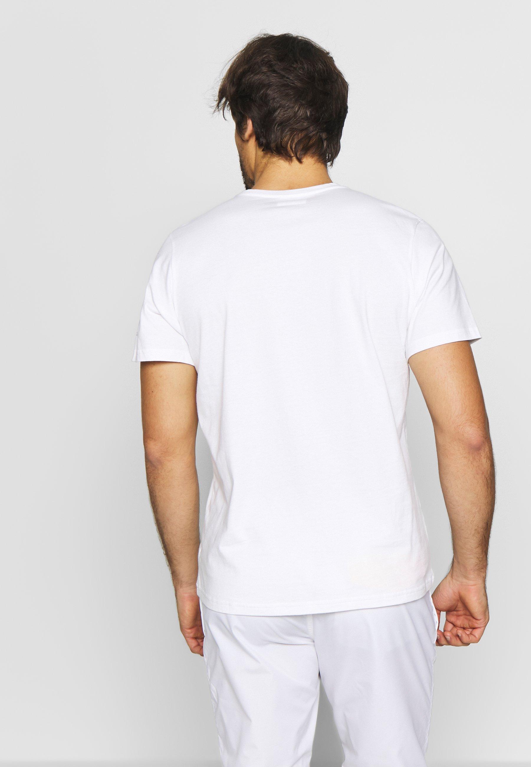 Columbia RAPID RIDGE™ GRAPHIC TEE - T-shirt z nadrukiem - white