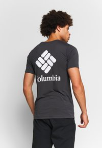 Columbia - MAXTRAIL™ LOGO TEE - T-shirt med print - shark - 2