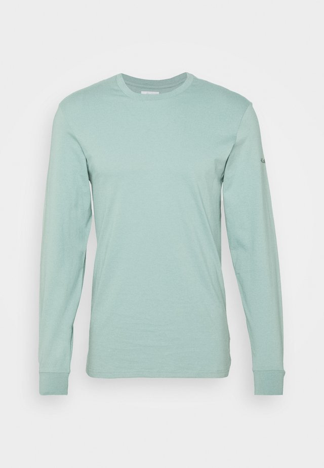 CADES COVELS GRAPHIC TEE - Long sleeved top - aqua tone