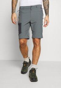 Columbia - TRIPLE CANYON SHORT - Outdoor shorts - city grey/shark - 0
