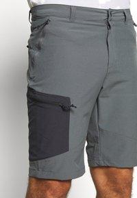 Columbia - TRIPLE CANYON SHORT - Outdoor shorts - city grey/shark - 4