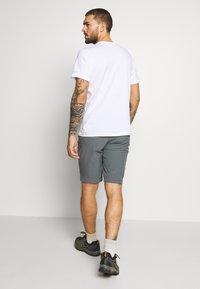 Columbia - TRIPLE CANYON SHORT - Outdoor shorts - city grey/shark - 2