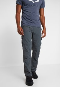Columbia - SILVER RIDGE CARGO PANT - Outdoor trousers - carbon - 0