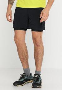 Columbia - TITAN ULTRA™ SHORT - Pantalón corto de deporte - black - 0