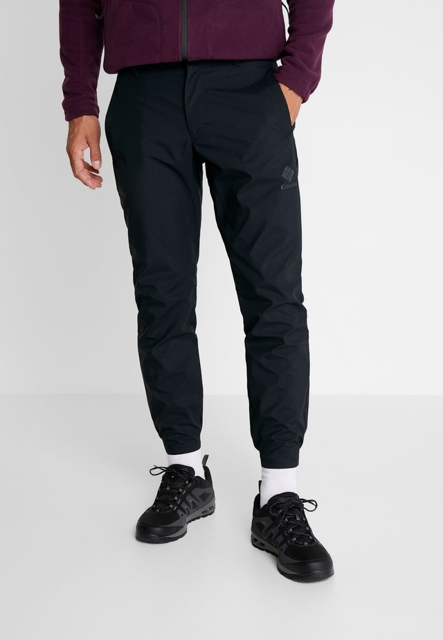 WEST END WARM PANT - Outdoor trousers - black