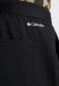 Columbia - TECH TRAIL FALL PANT - Długie spodnie trekkingowe - black - 4