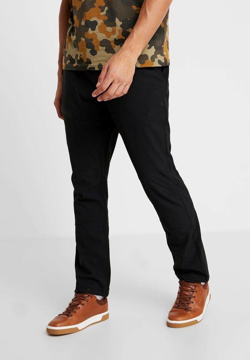 Columbia - TECH TRAIL FALL PANT - Długie spodnie trekkingowe - black