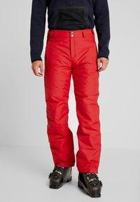 Columbia - BUGABOO PANT - Spodnie narciarskie - mountain red - 0
