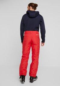 Columbia - BUGABOO PANT - Spodnie narciarskie - mountain red - 2