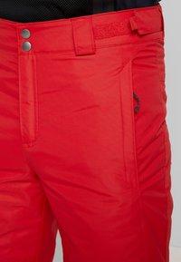 Columbia - BUGABOO PANT - Spodnie narciarskie - mountain red - 3