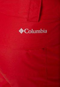 Columbia - BUGABOO PANT - Spodnie narciarskie - mountain red - 6