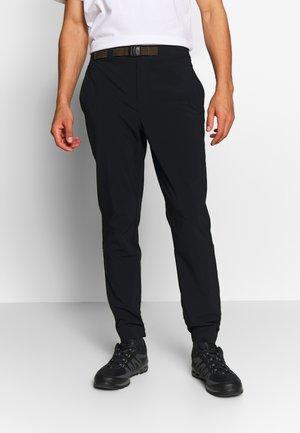 LODGE™JOGGER - Spodnie materiałowe - black