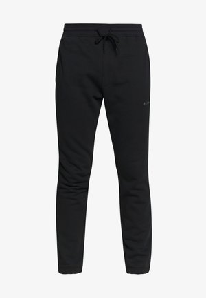 LOGO JOGGER - Spodnie treningowe - black/city grey