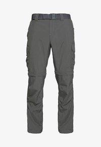 Columbia - SILVER RIDGE™ II CONVERTIBLE PANT - Kangashousut - dark grey - 7
