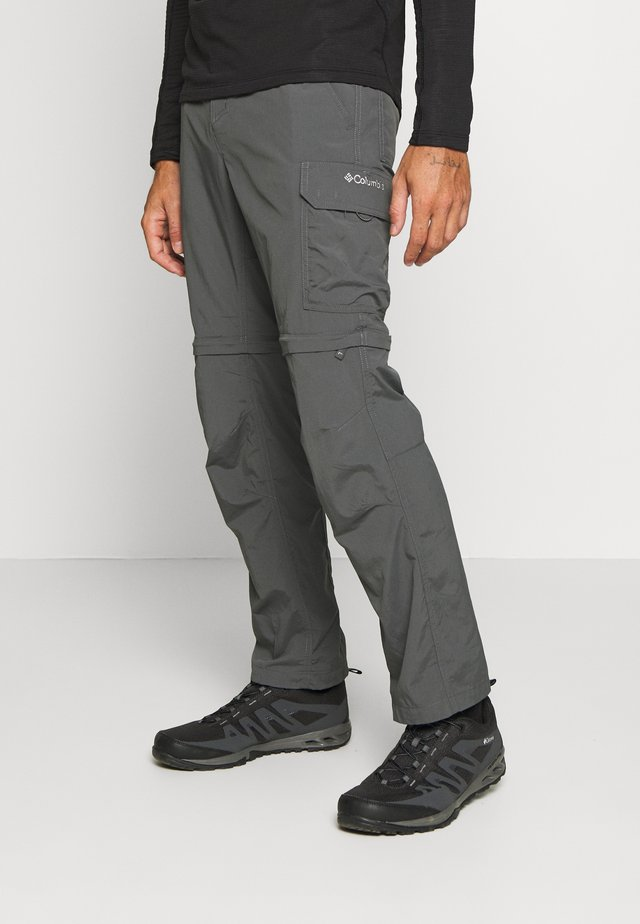 SILVER RIDGE™ II CONVERTIBLE PANT - Stoffhose - dark grey