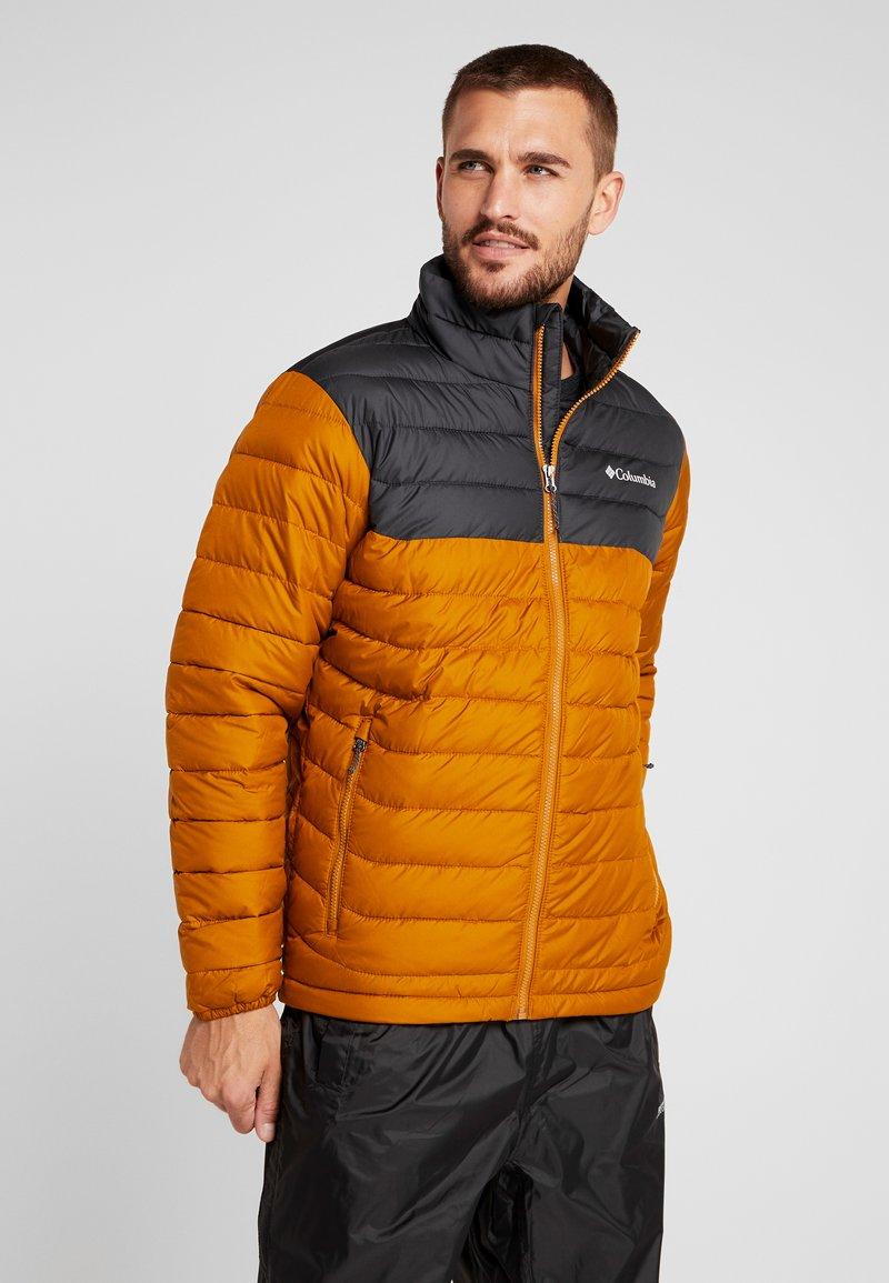 Columbia - POWDER LITE  - Winter jacket - burnished amber/shark