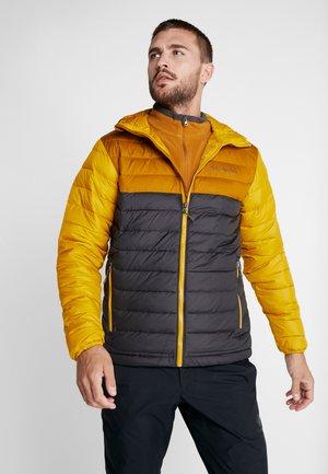 POWDER LITE HOODED JACKET - Winterjacke - shark/burnished amber