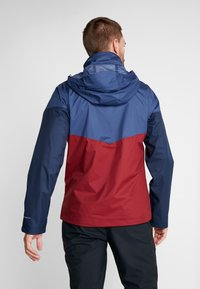 Columbia - Regnjacka - red jasper/dark mountain - 2
