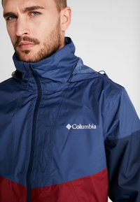 Columbia - Regnjacka - red jasper/dark mountain - 4