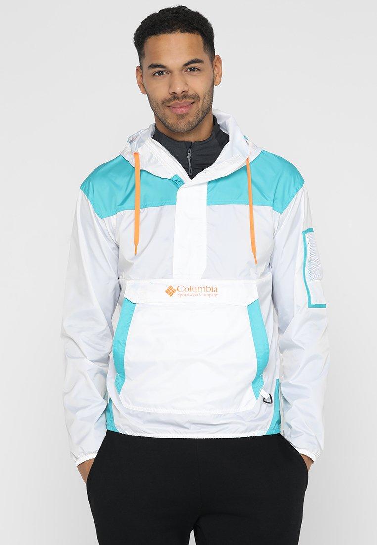 Columbia - CHALLENGER  - Outdoor jacket - white/miami/orange blast