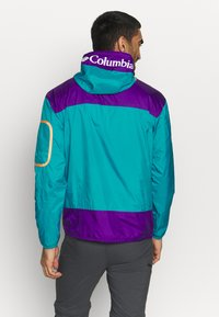 Columbia - CHALLENGER™  - Veste coupe-vent - clear water/vivid purple - 2