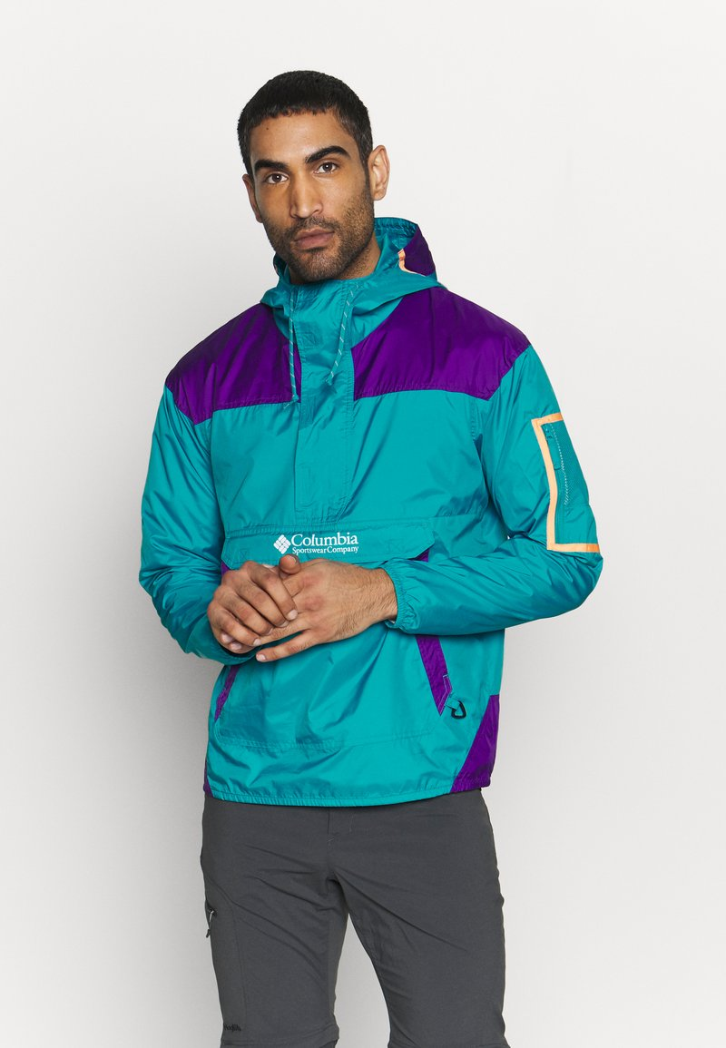 Columbia - CHALLENGER™  - Veste coupe-vent - clear water/vivid purple