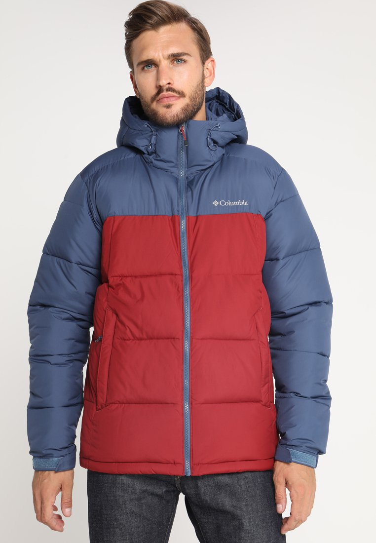 Columbia - PIKE LAKE HOODED JACKET - Kurtka zimowa - dark red