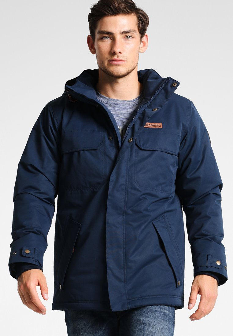 Columbia - RUGGED PATH JACKET - Winter jacket - collegiate navy