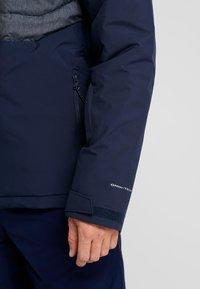 Columbia - WHITE HORIZON HYBRID JACKET - Ski jacket - collegiate navy/heather - 3