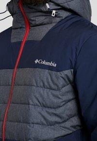 Columbia - WHITE HORIZON HYBRID JACKET - Ski jacket - collegiate navy/heather - 5