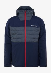 Columbia - WHITE HORIZON HYBRID JACKET - Ski jacket - collegiate navy/heather - 4