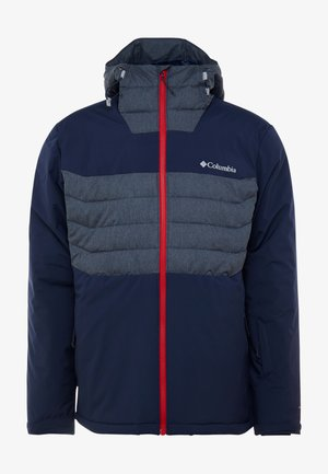 WHITE HORIZON HYBRID JACKET - Skijacke - collegiate navy/heather